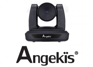 Angekis Curtana Video Conferencing Camera  Perfect for small conference and huddle rooms. Full HD 1080P at 30 fps,pan rotation 350 degrees,pan control speed 0-128 deg/sec, tilt rotation -35 to + 200 deg, tilt rotation speed 85deg/sec, output USB 2.0, image flip, IR remote with 7 preset positions, RS232 control with 200 preset positions.
